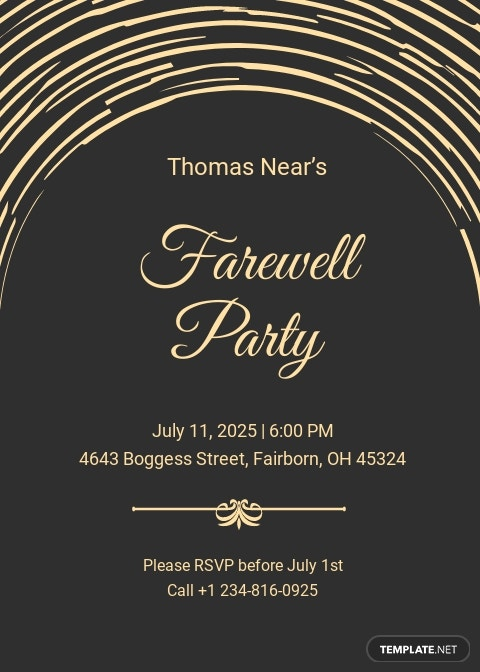 Modern Farewell Party Invitation Template.jpe