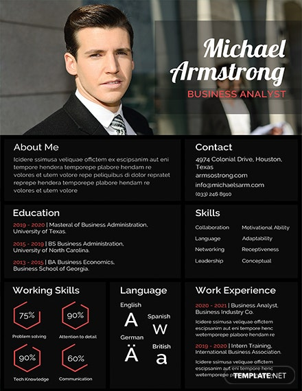 Free MBA Fresher Resume Template