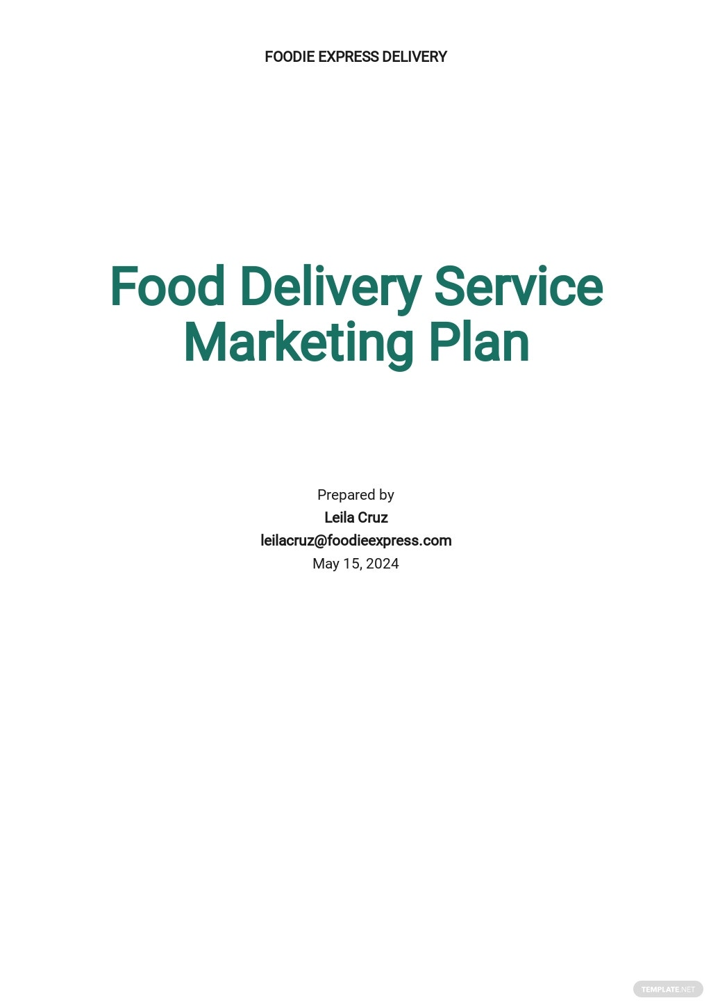 Food Delivery Service Marketing Plan Template.jpe