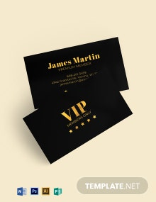 Vip Membership Card Template