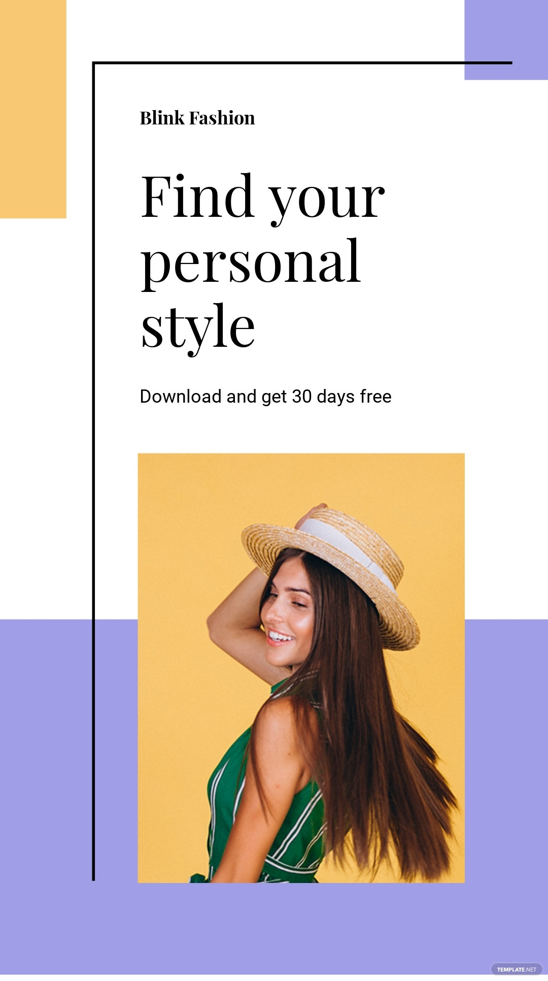 Free Fashion Brands App Promotion Instagram Story Template