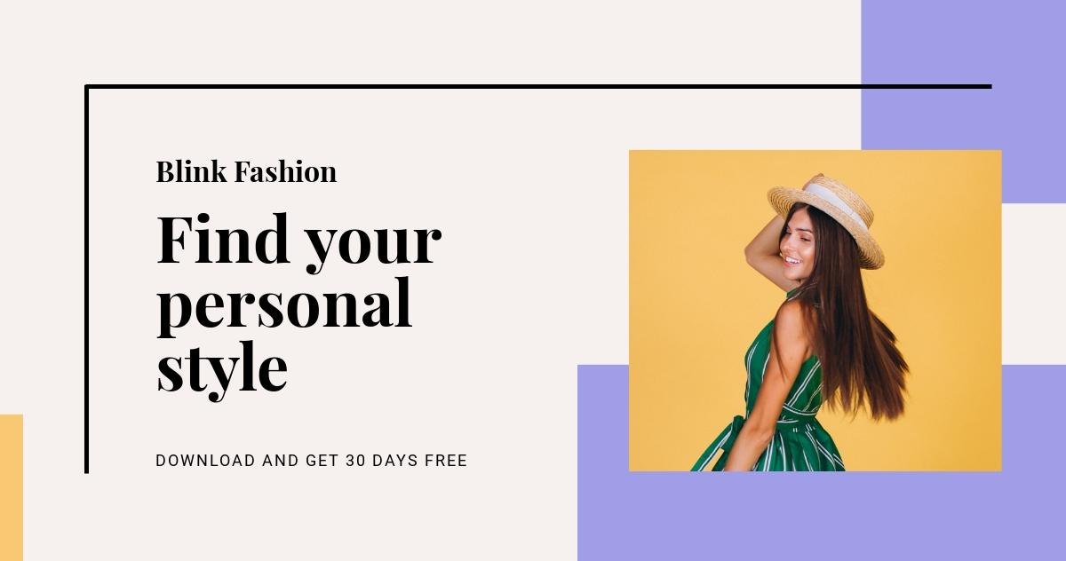 Fashion Brands App Promotion LinkedIn Blog Post Template.jpe