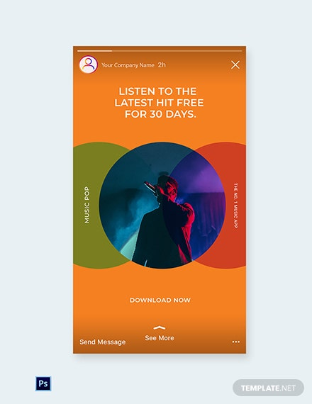 Free Modern App Promotion Instagram Story Template