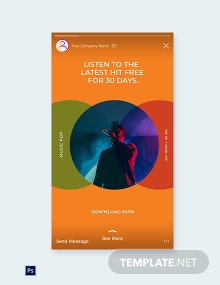 Free Modern App Promotion Instagram Story Template