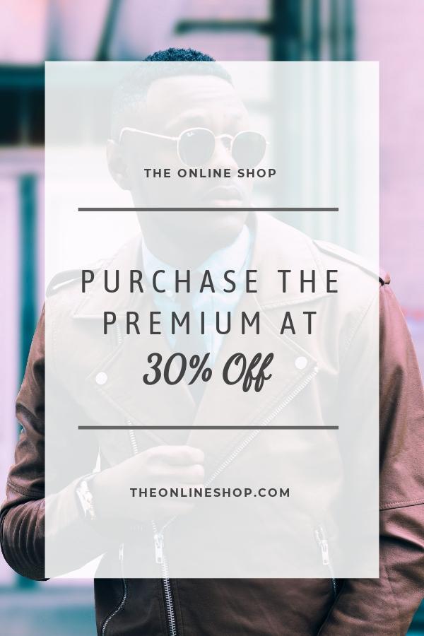 Free Online Shop App Promotion Pinterest Pin Template.jpe