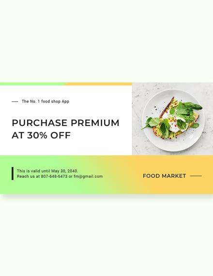 Free Restaurant App Promotion LinkedIn Blog Post Download
