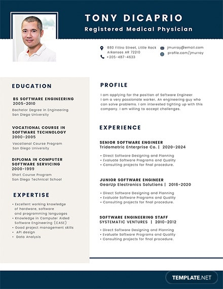 Free Medical Student Resume Format Template Download 200 Resume