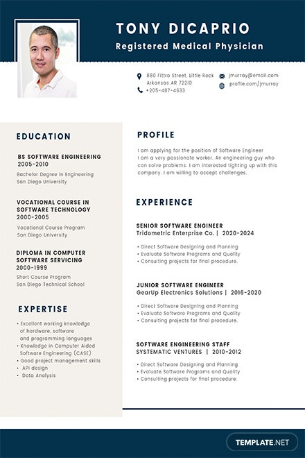 Free Medical Student Resume Format