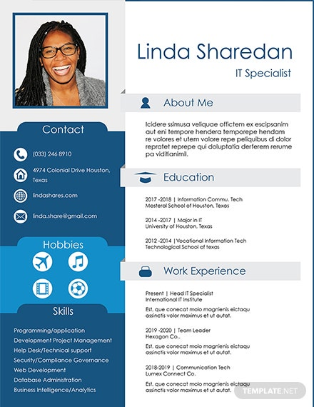 Free IT Professional Resume Template
