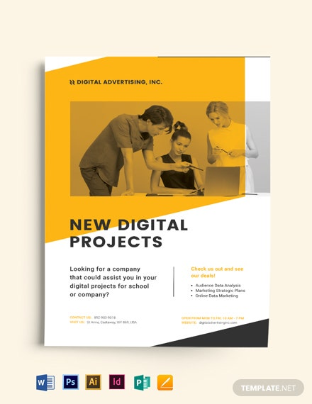 Modern Project Flyer Template