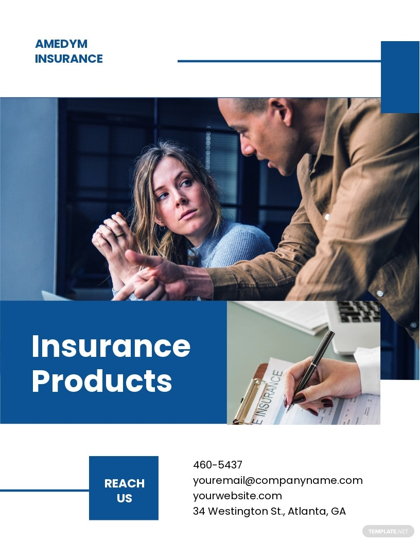 Insurance Company Business Flyer Template