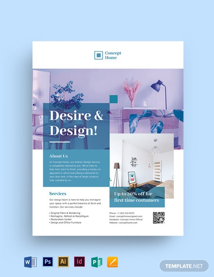 Interior Flyer Template