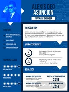 Free Software Quality Engineer CV Template