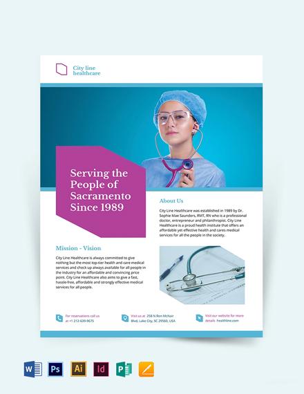 Healthcare Flyer Template