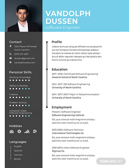 free software quality engineer cv template  download 200