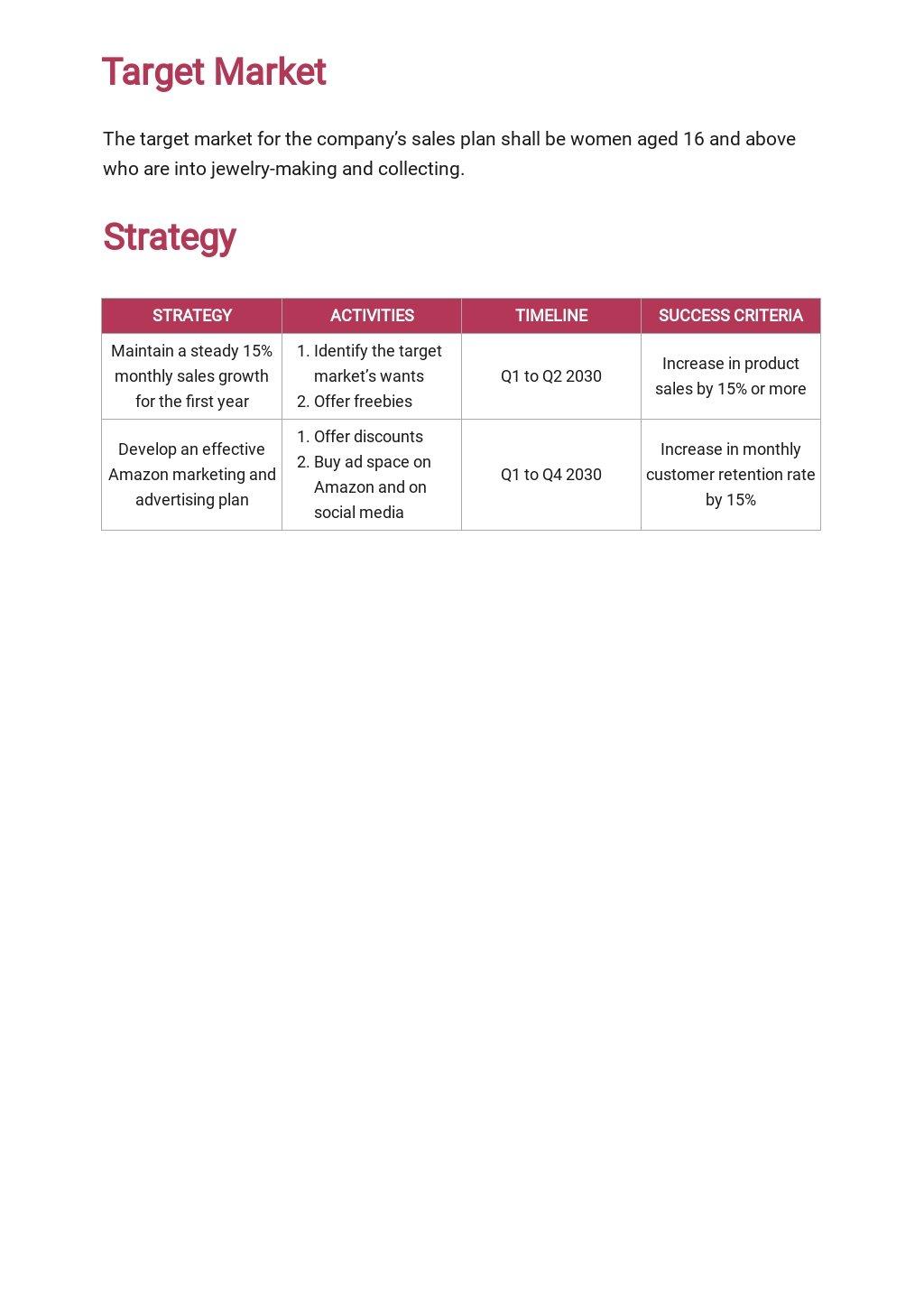 Amazon Store Sales Plan Template 2.jpe