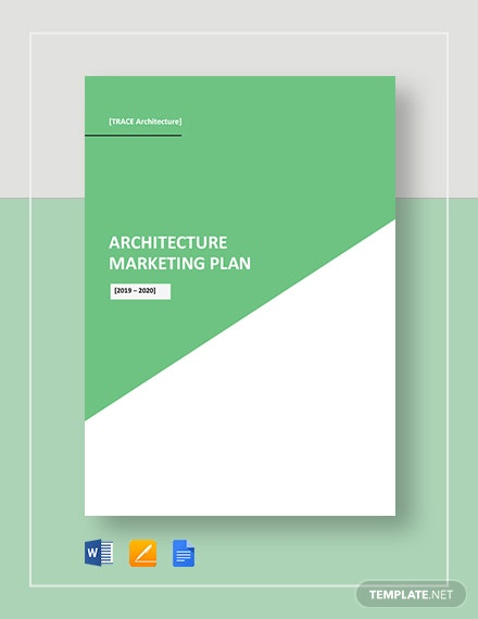 Architecture Marketing Plan Template