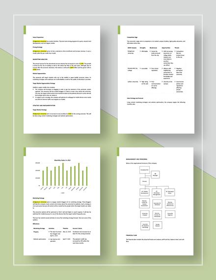 Basic Marketing Plan Download