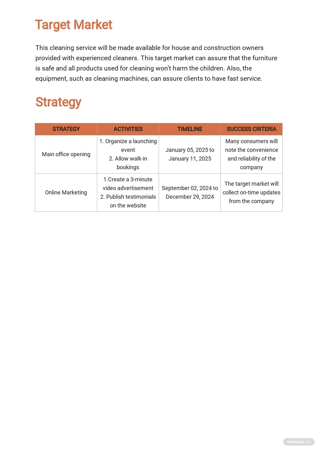 Cleaning or Janitorial Marketing Plan Template 2.jpe