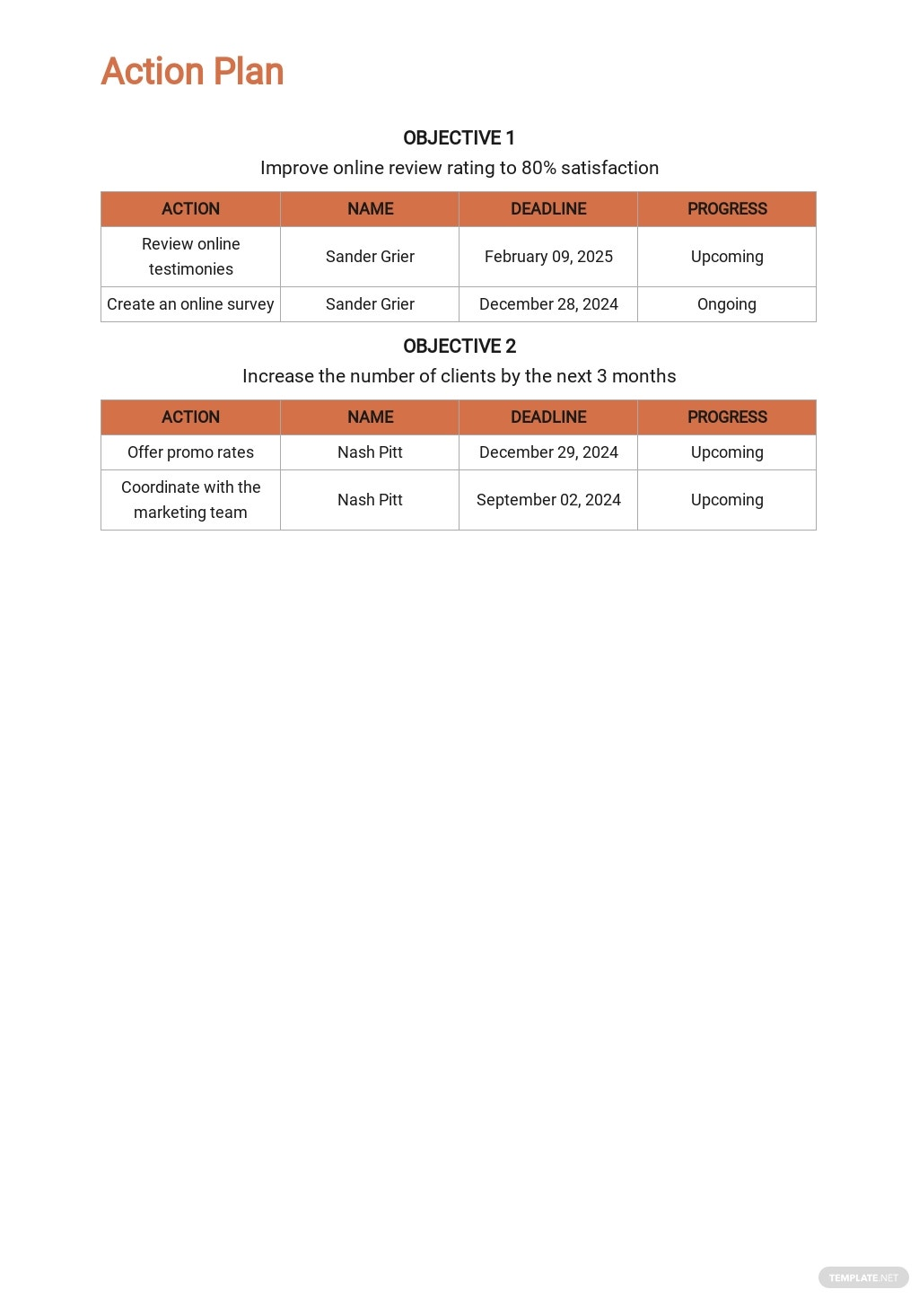 Cleaning or Janitorial Marketing Plan Template 4.jpe