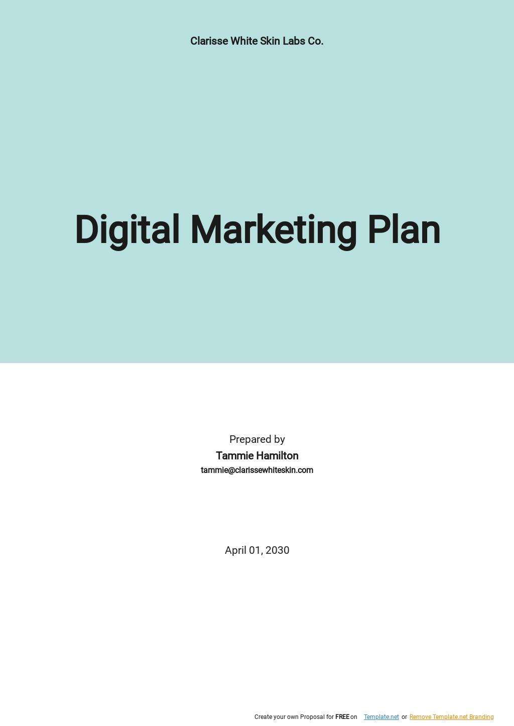 Digital Marketing Plan Template.jpe