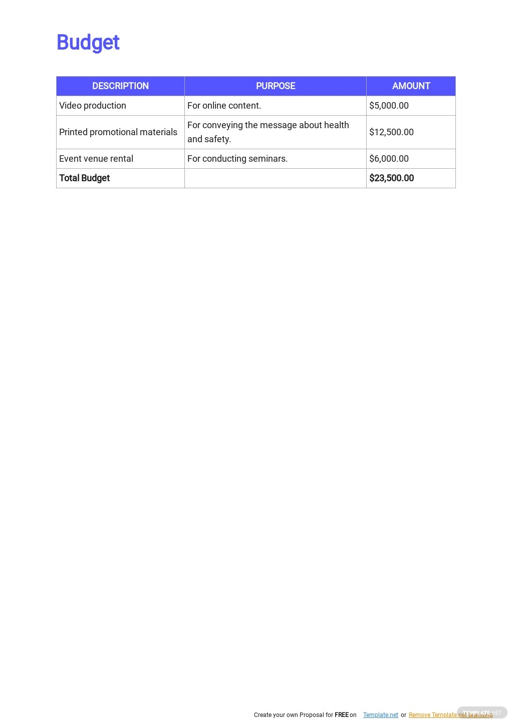 Health and Safety Marketing Plan Template 5.jpe