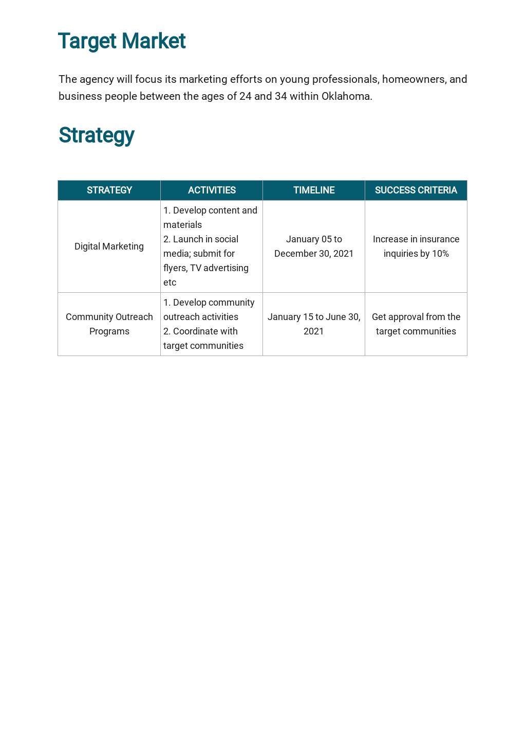 Insurance Agency Marketing Plan Template 2.jpe