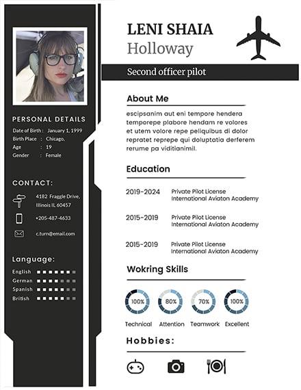 187  free resume templates