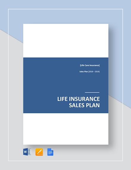 life insurance sales plan