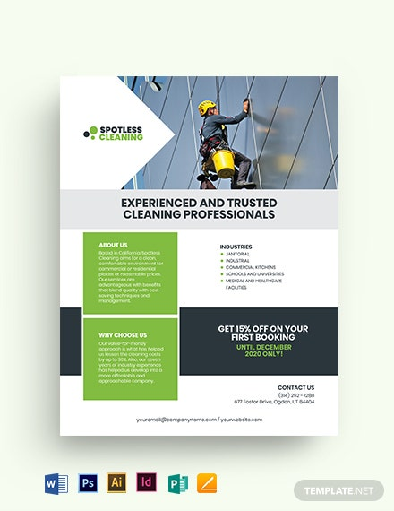 Flat Business Flyer Template