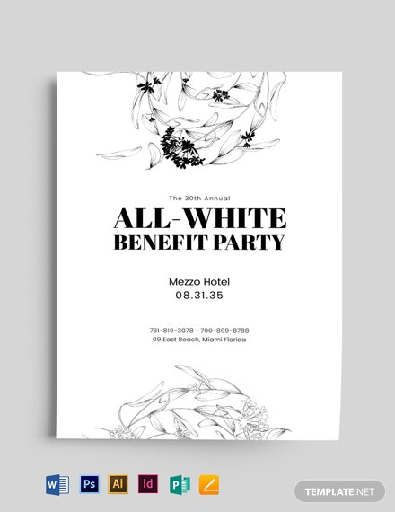 Minimal Event Flyer Template