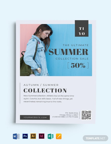 Minimal Fashion Flyer Template