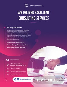 Consulting Services Flyer Template