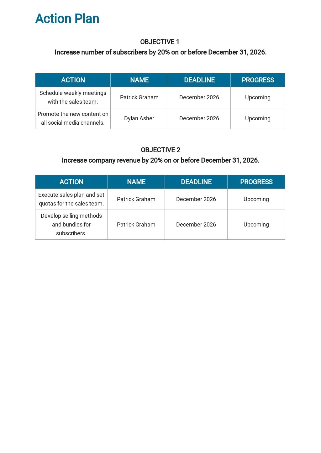 Media Agency Sales Plan Template 4.jpe