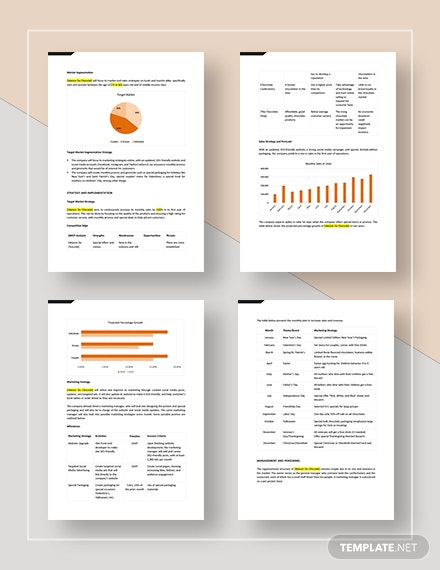Monthly Marketing Plan Download