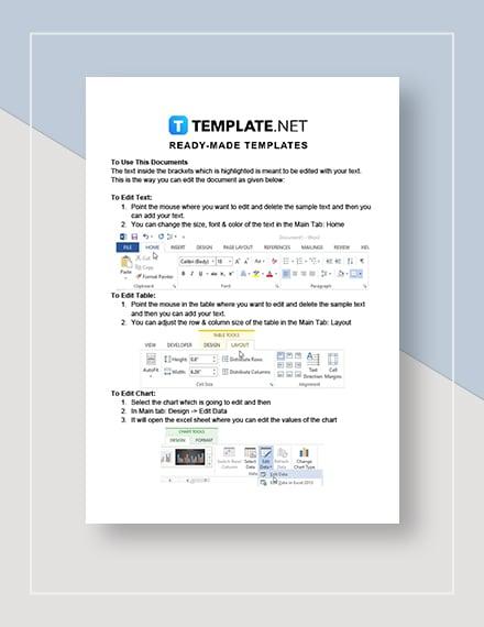 Network Marketing Plan Instructions