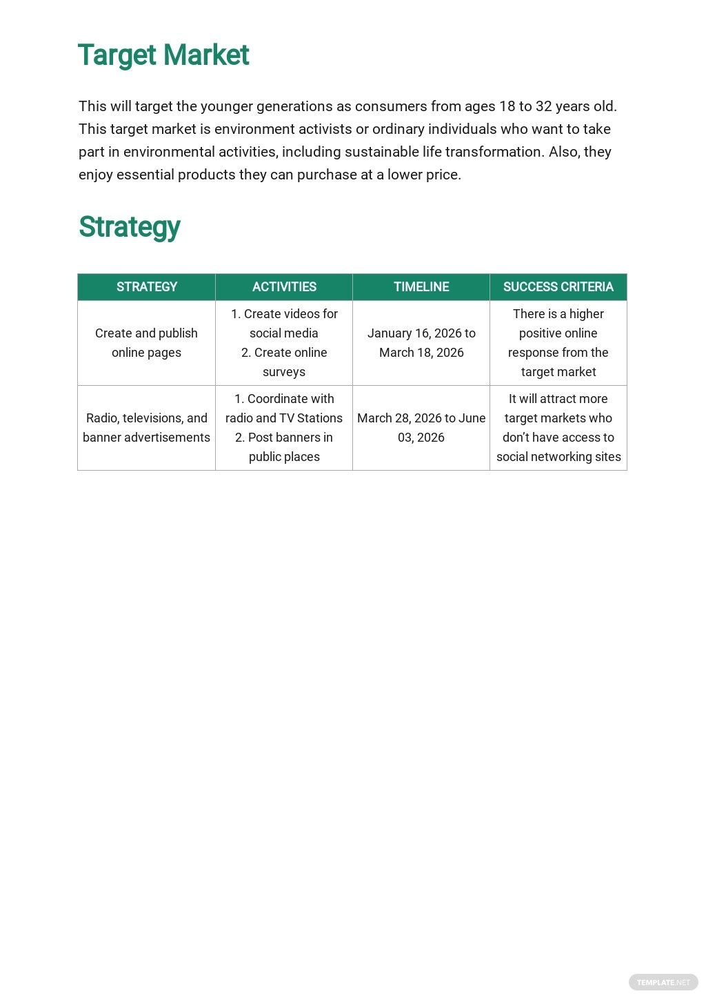 New Product Marketing Plan Template 2.jpe