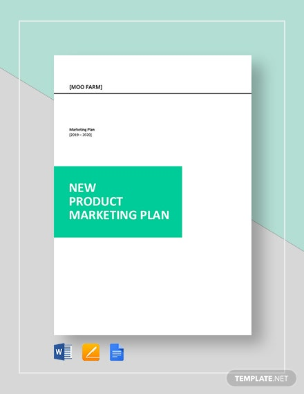 New Product Marketing Plan
