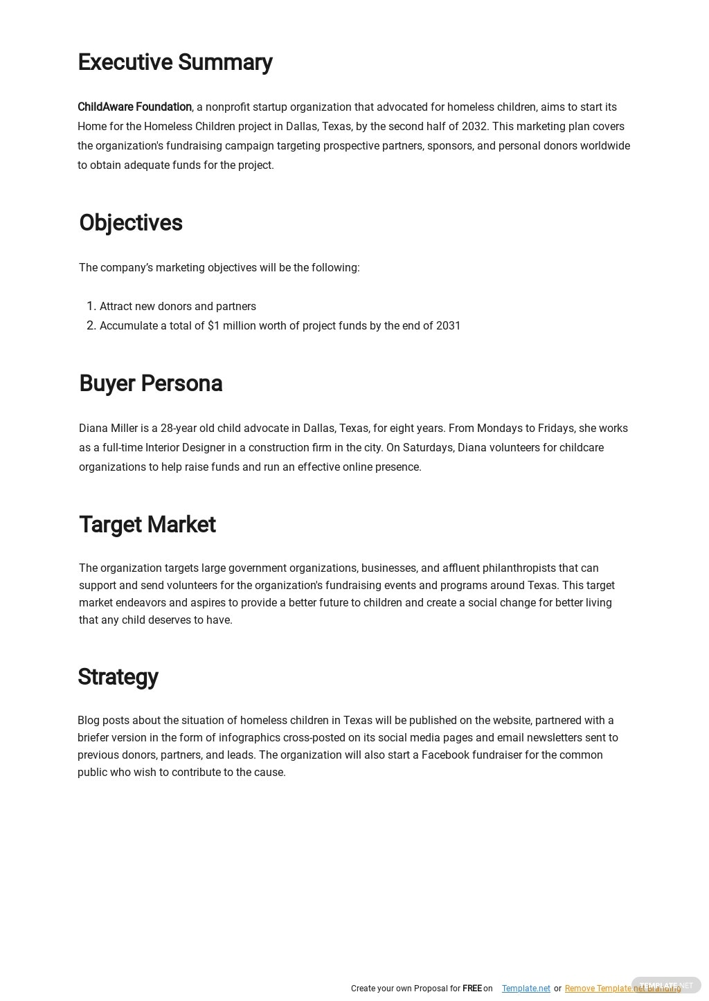 Nonprofit Marketing Plan Template 1.jpe