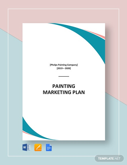 Painting Company Marketing Plan Template
