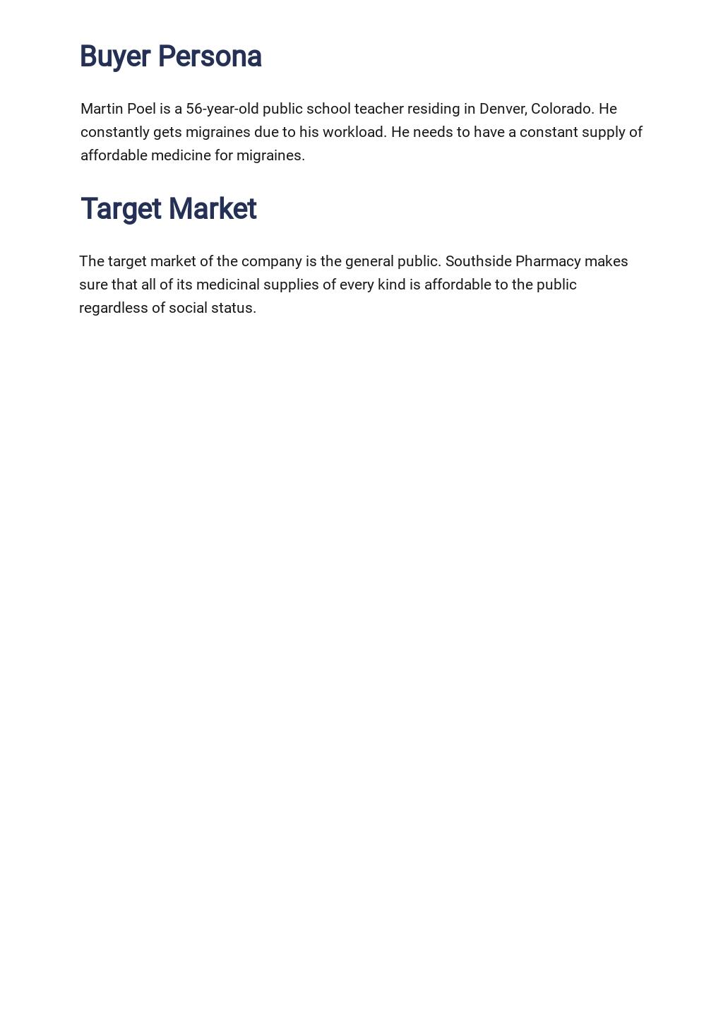 Pharmacy or Drug Store Marketing Plan Template 2.jpe