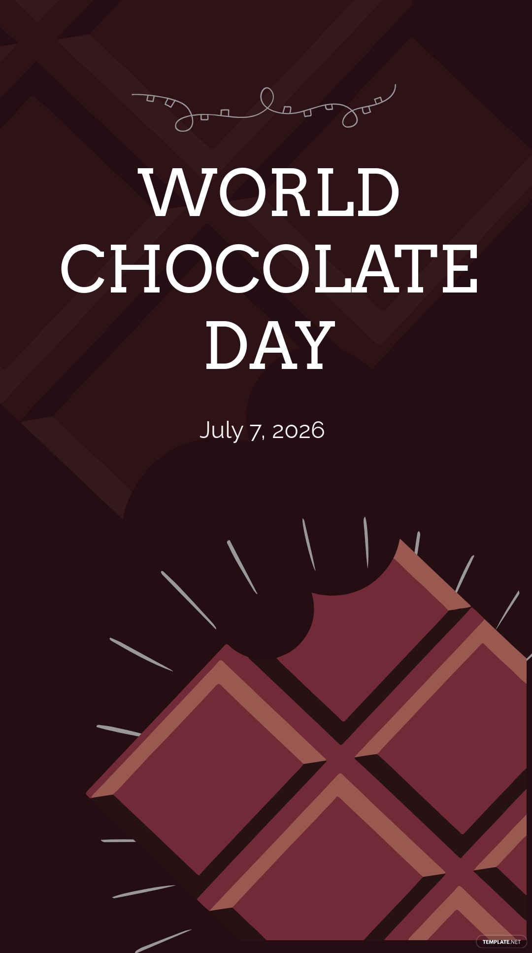 World Chocolate Day Instagram Story Template