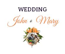 Free Elegant Overlay Wedding Invitation Template