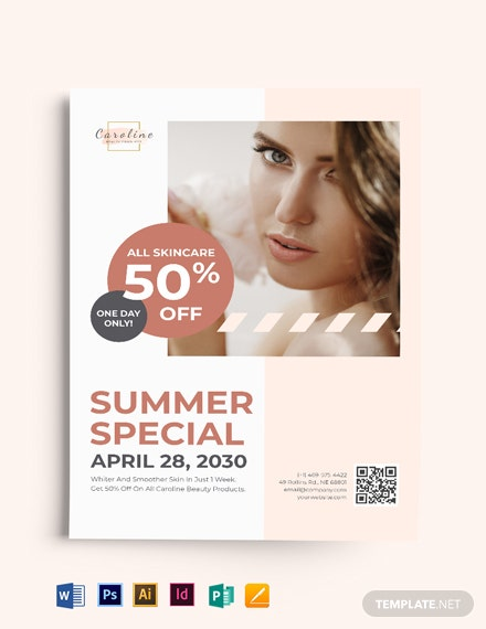 Multi Purpose Beauty Flyer Template