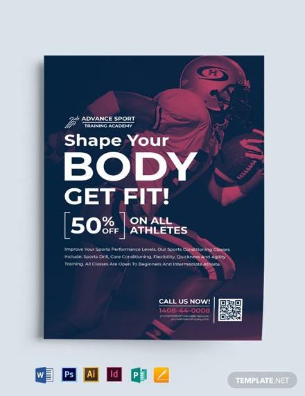 Multipurpose Sports Flyer Template