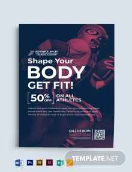 Multipurpose Sports Flyer Template