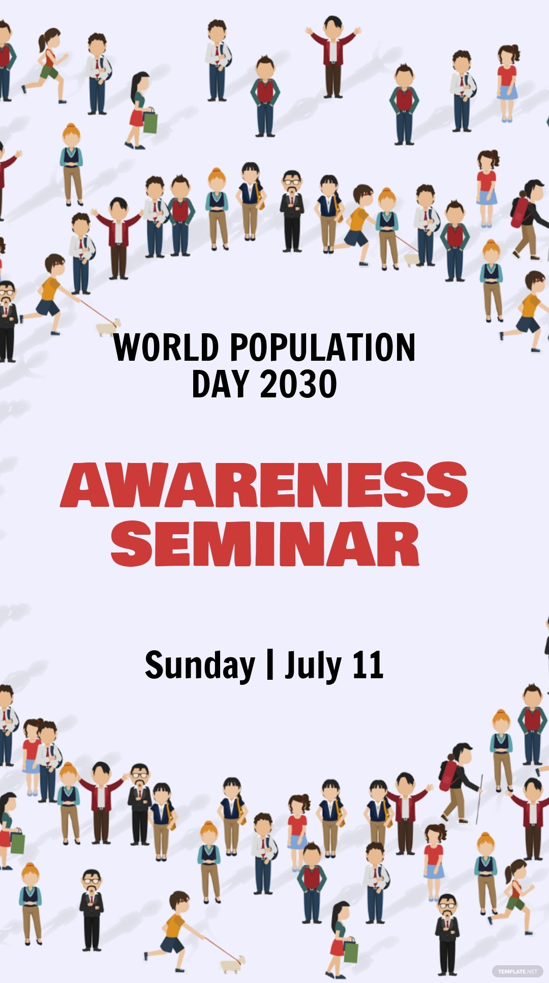 World Population Day Instagram Story Template
