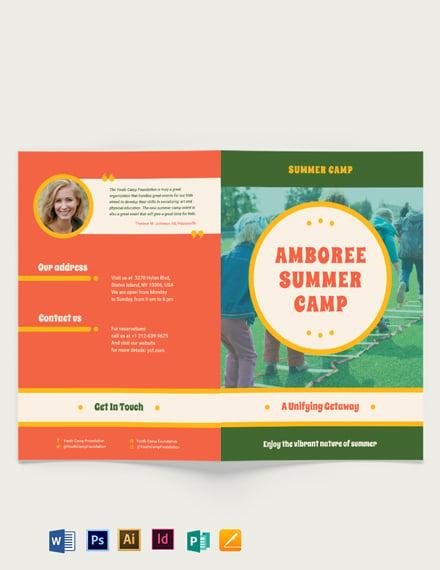 Summer Camp BiFold Brochure
