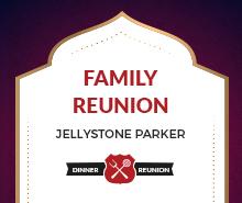 Free Family Dinner Reunion Invitation Template