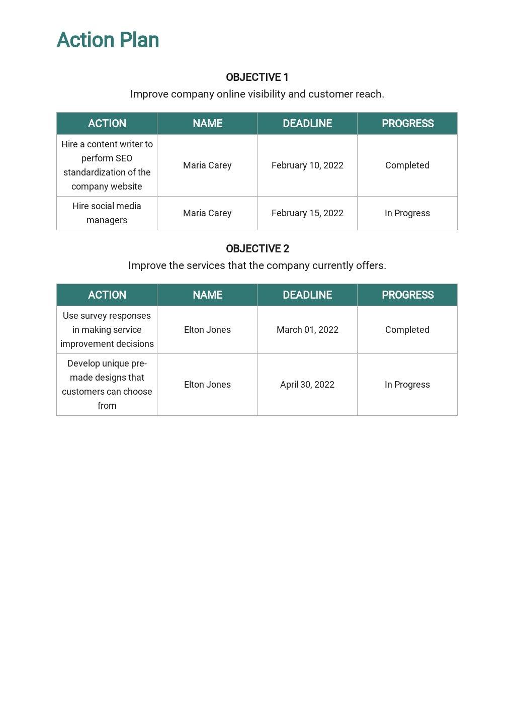 Printing Company Marketing Plan Template 4.jpe